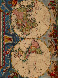 Make your own world map fleece blanket bundle up in yours today gorgeous vintage old world map fleece blanket gumiabroncs Images