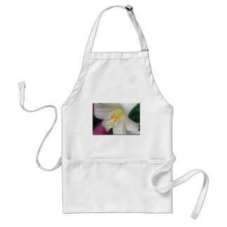 Gorgeous While Lily Adult Apron