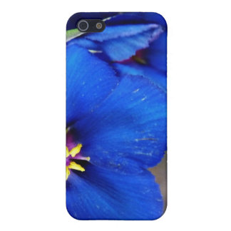 Gorgeous Wild Blue Poppy special quote iphone case