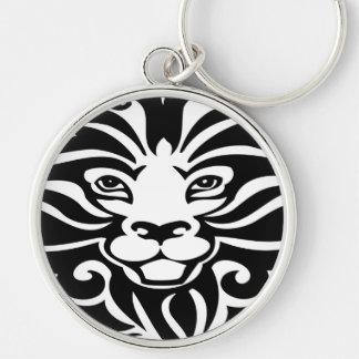 Gorgeous Wild Lion Mascot Keychain
