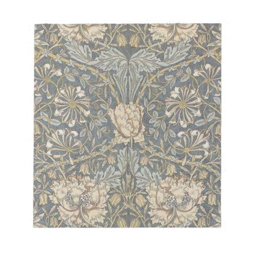 Gorgeous William Morris Pre Raphaelite Art Memo Pad
