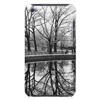 Gorgeous Winter Landscape in Central Park iPod Case-Mate Cases