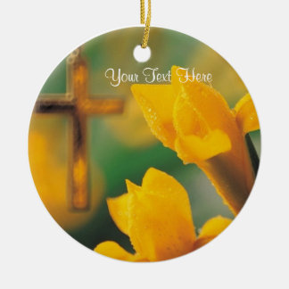 Gorgeous Wishes for a Blessed & Wonderful Easter! Ceramic Ornament