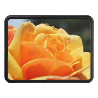 Gorgeous yellow rose flower. Floral photo art. Hitch Cover