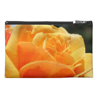 Gorgeous yellow rose flower. Floral photo art. Travel Accessories Bags