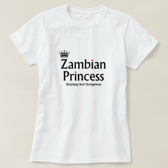 Gorgeous Zambian Princess T-Shirt