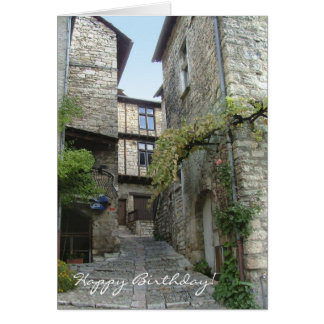 Gorges du Tarn, France birthday card