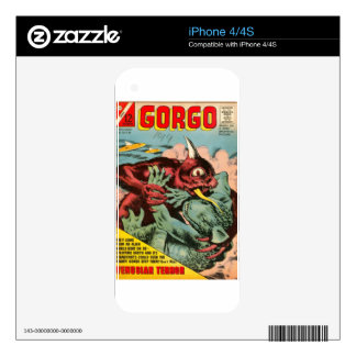 Gorgo and Cyclops Monster iPhone 4S Skins