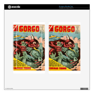 Gorgo and Cyclops Monster Skins For Kindle Fire