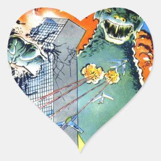 Gorgo Returns Heart Sticker