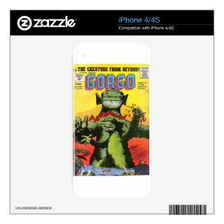 Gorgo the Creature from Beyond Decal For iPhone 4