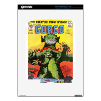 Gorgo the Creature from Beyond Decals For iPad 2