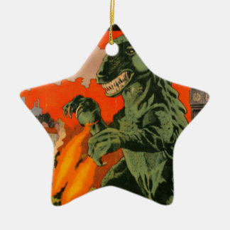 Gorgo the Monster from the Sea Ceramic Ornament