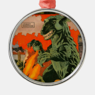 Gorgo the Monster from the Sea Metal Ornament