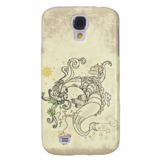 Gorgon Earth Mythology Color Cream Galaxy S4 Cover
