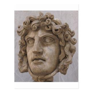 GORGON: El demonio de la mitología griega Tarjetas Postales