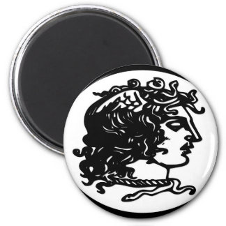Gorgon / Medusa Refrigerator Magnet