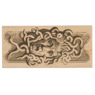 Gorgon / Medusa Maple USB Drive 1