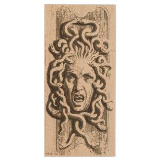 Gorgon / Medusa Maple USB Drive 2