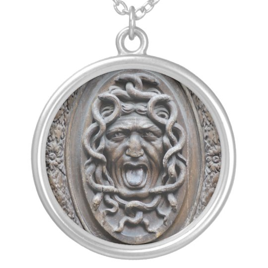 GORGON SILVER PLATED NECKLACE