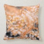 Gorgonian coral 2 throw pillow