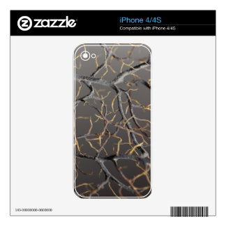 Gorgonian coral skin for iPhone 4S