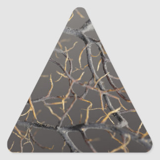 Gorgonian coral triangle sticker