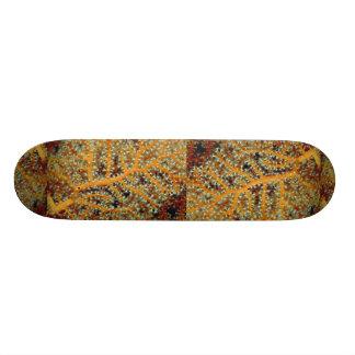 Gorgonian feeding in heavy currents skate board decks