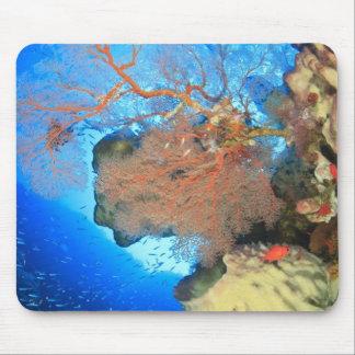 Gorgonian sea fans, Gunung Api Island, Banda Mouse Pad