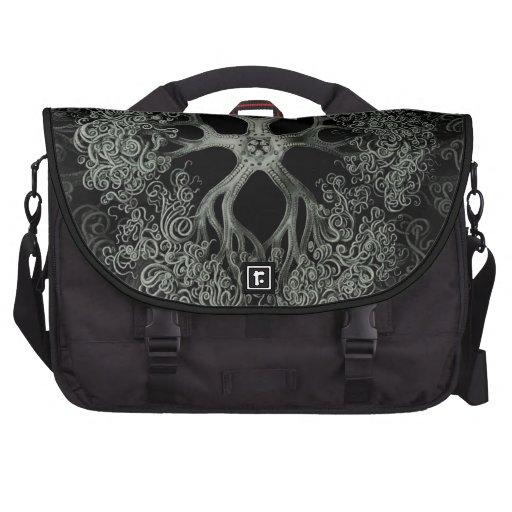 Gorgonocephalidae Black & White Bag For Laptop