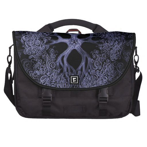 Gorgonocephalidae Blue Laptop Computer Bag