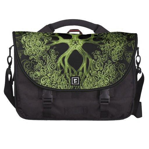 Gorgonocephalidae Green Commuter Bags