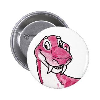 Gorgonopsid Pinback Button