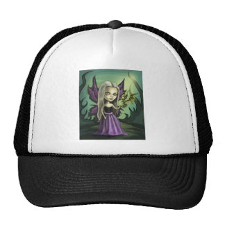 Gorhic Fairy and Baby Dragon Trucker Hat