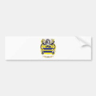 Gori Coat of Arms (Family Crest) Car Bumper Sticker