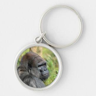 Gorila adulto llaveros personalizados