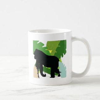 Gorila africano taza clásica