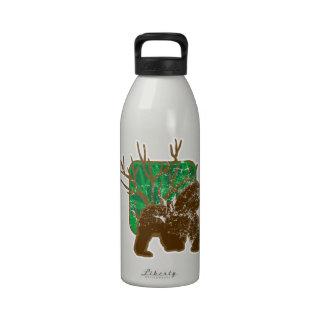 gorila botella de agua