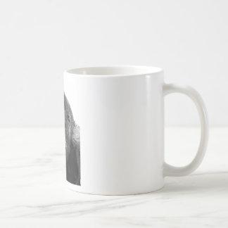 Gorila blanco negro taza clásica