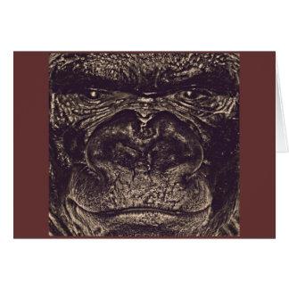 Gorila, cierre encima de la cara (gfaceacc) tarjetas