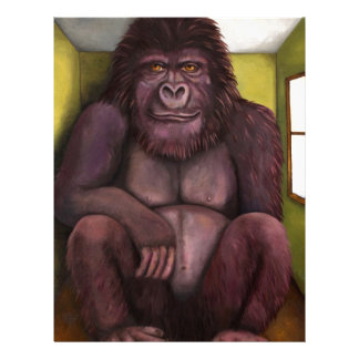 Gorila de 800 libras en el cuarto membrete