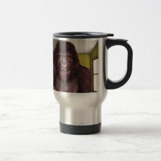 Gorila de 800 libras en el cuarto taza de viaje de acero inoxidable