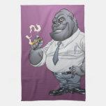 Gorila de Boss del hombre de negocios del cigarro  Toallas