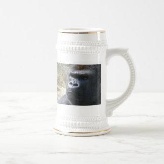 Gorila de cerámica Stein Jarra De Cerveza