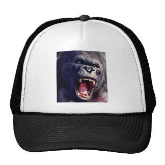 Gorila de griterío gorros bordados