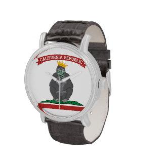 Gorila de la república de California Relojes De Mano