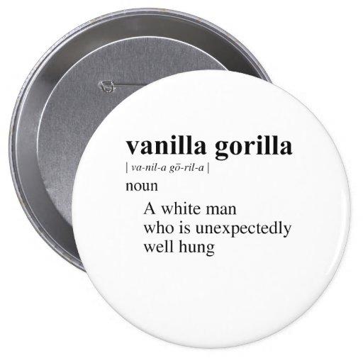 GORILA DE LA VAINILLA PINS