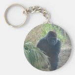 Gorila de montaña magnífico llavero