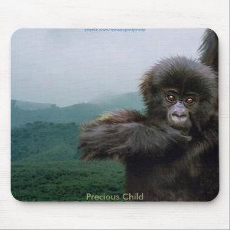 Gorila de montaña tapete de ratones