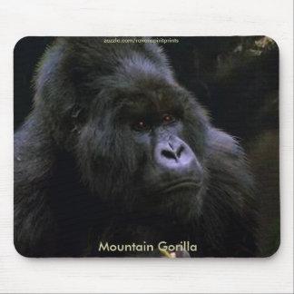 Gorila de montaña tapetes de raton